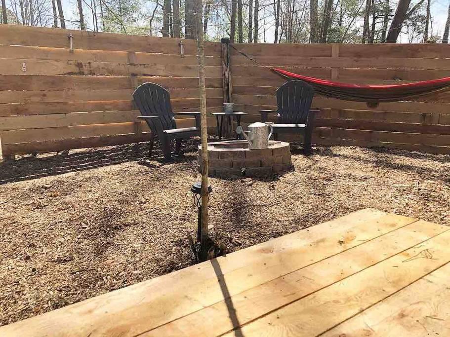 Tent 3 Fire Pit 2 Canopy Ridge